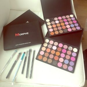 🎨MORPHE eyeshadow palettes with new brush sets🎨